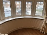 Misted Bay Window in Barnehurst BEFORE, see below for after