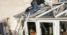 Conservatory Roof Repairs Polycarbonate Roof Repair Fix A Slipped Conservatory Roof Panel